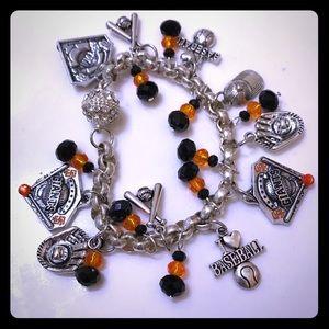 Jewelry - San Francisco Giants Charm Bracelet